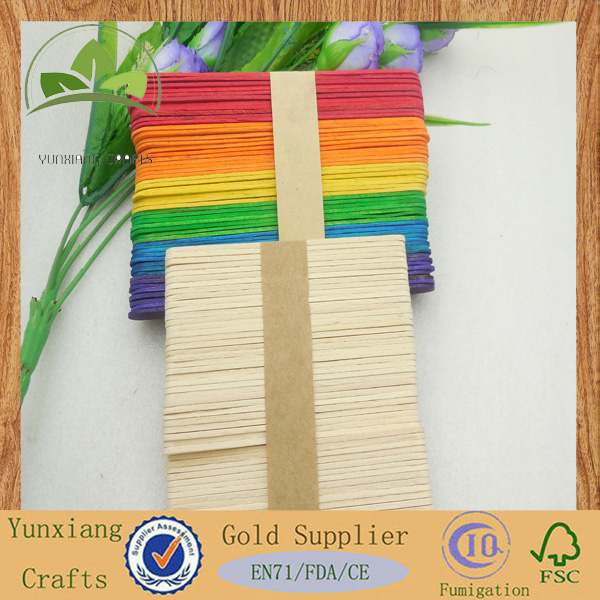 Wooden wood popular Popsicle Stick Ice Cream Cake DIY HandiCraft Art sticks