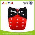 Alvababy New Pattern Reusable Baby Pocket Diapers Manufacture in China