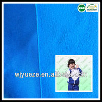 knitted micro fleece fabric for school uniform