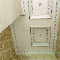 Good quality decorative pu cornices/ foam trim molding material