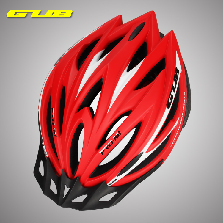GUB <strong>M1</strong> Highway Mountain bicycle with visor integrated light equipment Bike Helmet