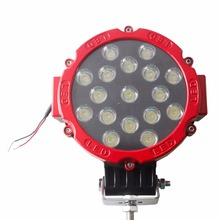Wholesale round led work lamp waterproof led light work 51W worklight