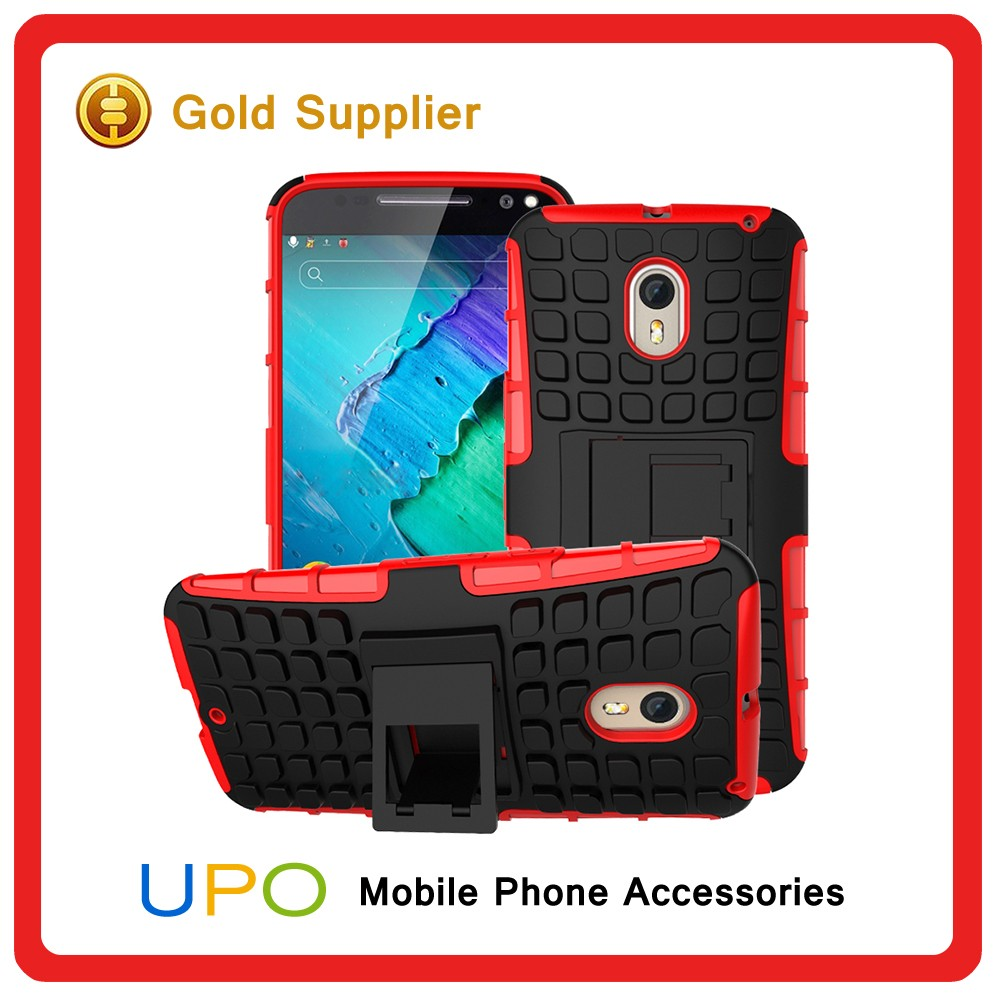 [UPO] Hot Selling Tough Hybrid Combo Armor Back Covers Case for Motorola Moto X Style