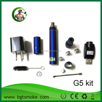 2014 Hot Sell e cigarette mechanica atomizer battery camo g5 vaporizer With Factory Price