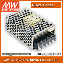 15W 24v Meanwell smps power supply circuit RS-25-24 110VAC to 24VDC LED Driver