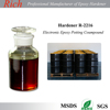 Low Exothermic long pot life time epoxy hardener for Electronic Epoxy Potting Compound Adhesives R-2216