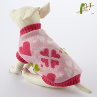 Hot sell factory price knitted custom dog clothing