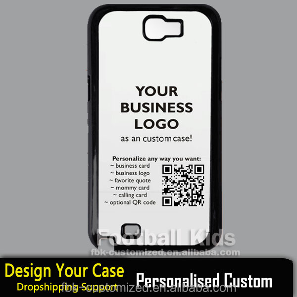 OEM cell phone case glossy Hard PC protective case for Samsung galaxy note2
