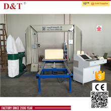 DTC-F1212 New design CNC 2D Shape cnc rock wool foam pipe cutting machine