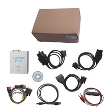 Best Price KWP 2000 PLUS ECU Tuning Tool KWP2000 Plus Supports High Speed ECU Flashing ECU REMAP Flasher