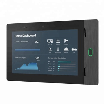 10 Inch IPS Screen Wall Mount Android Tablet With POE For Smart Home Control System