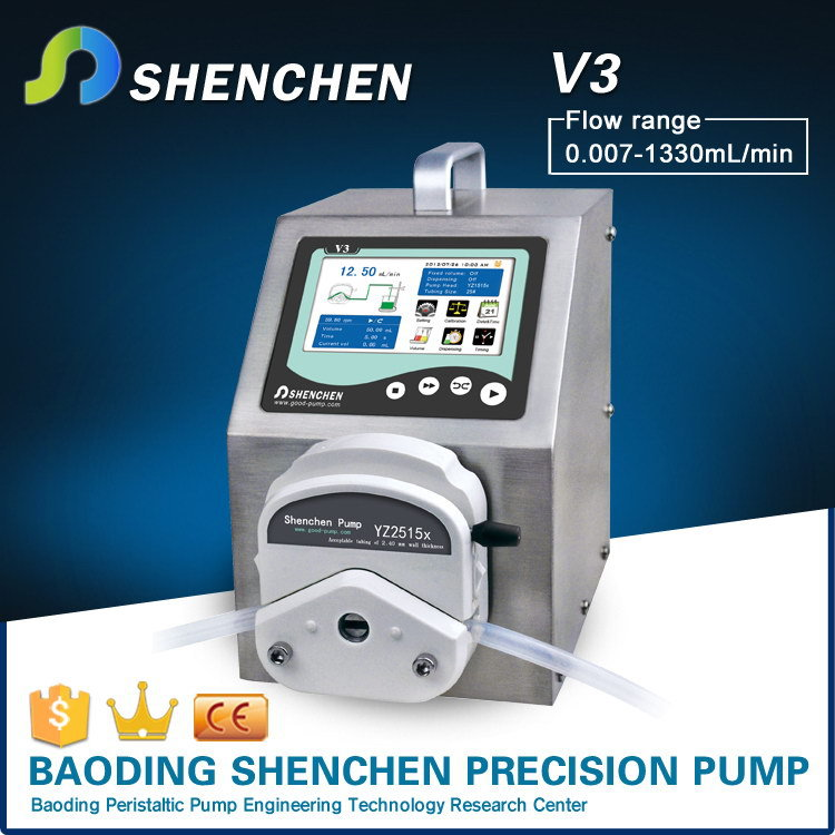 Low cost high quality electric water pumps, semi-automatic peristaltic pumps