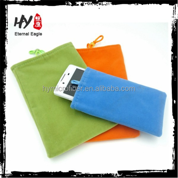New design cheap mobile phone pouch, microfiber mobile phone bag, prestigio mobile phone case