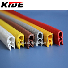 plastic window U-shaped flexible pvc edge trim seal strip