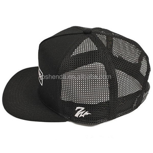Excellent quality Crazy Selling canvas flag mesh trucker hat