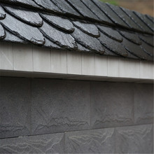 European roof slate construction material