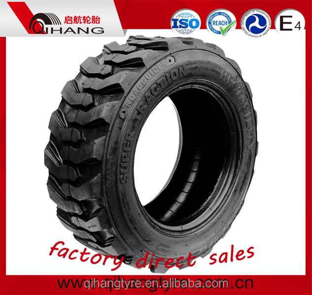 China good price industrial wheel loader tire 10-16.5 12-16.5 14-17.5 bobcat skid steer tire