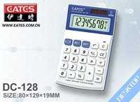8 digits angled display desktop calculator