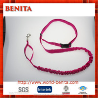 2016 48 inch pink webbing hands free running dog leash