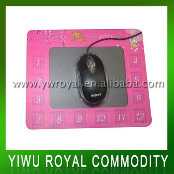 2013 Hot Sale Mousepad With Photo Insert