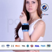 flexible stripe gel ice wrap hot cold pack therapy for wrist