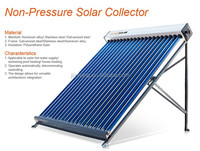 pressure bearing standard type solar water heater,premium solar collector,for hosehold using