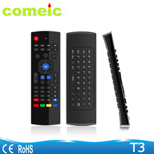 2.4g Wireless Air mouse with keyboard IR remote control for smart tv iptv