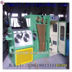 24DT(0.08-0.25) Copper fine wire drawing machine with ennealing(edm brass wire drawing machine)