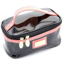 BSCI AUDITED china manufacture promotional cheap clear pvc cosmetic make up bag