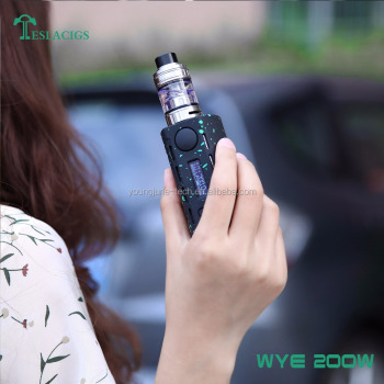 2018 innovative product WYE 200W with better lightweight 64.5g from Tesla