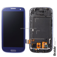 Factory Price LCD Display Touch Screen Digitizer Assembly for Samsung Galaxy S3 i9300