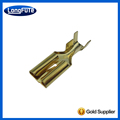 Wire crimp terminal for stamping and wire connecting part DJ621-E7.8D