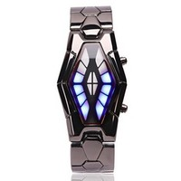 New Arrival 2015 Iron Samurai Lava LED Watch For Man And Women