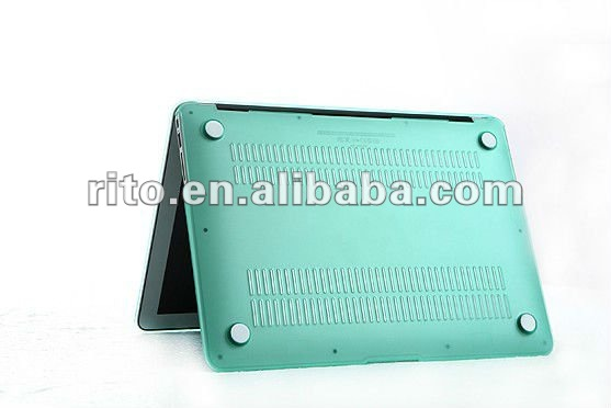 "The Best Christmas Gift! Front & Back Protective Crystal Cover Case for Mac Pro 13"", High Quality, OEM/ODM Preferred"