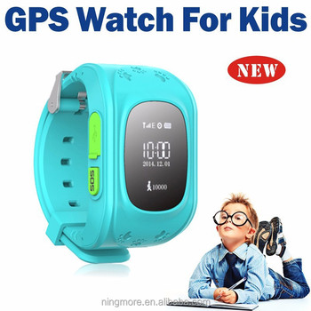 small gps smart watch/gps tracking device for kids NT18