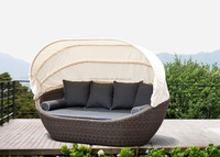 Cheap outdoor patio daybed /sunbed /outdoor bed