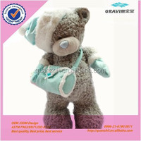 Gout injured plush stuffed teddy bears with bandage for hospital teddy bear
