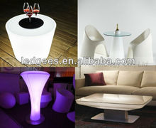 FANCY Modern LED Heb Patio Furniture with Magic Color Changing, CE and RoHS Approval