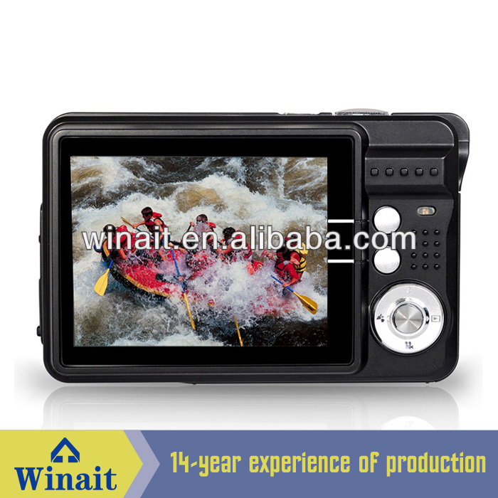 Cheap Good Digital Cameras 2.7 Inch LCD Face Detection Max 16 MP