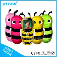Best Selling OEM China Factory Little Bee Cute Toy Kids Mobile Phone
