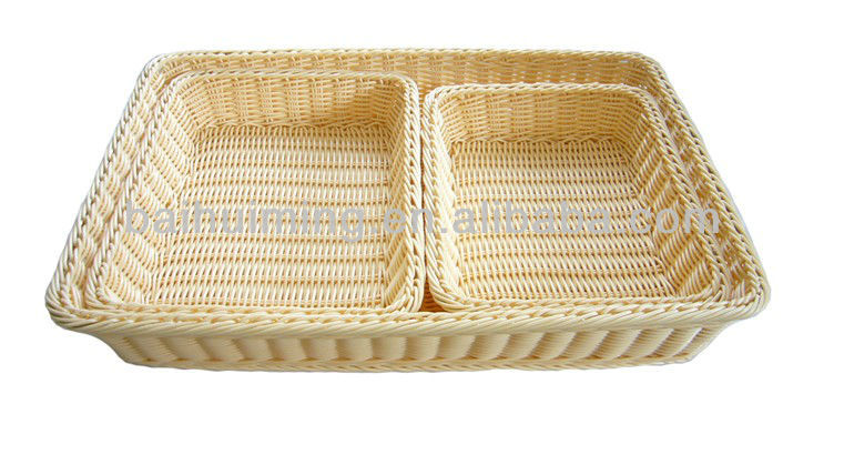 Bread Basket of Poly Rattan