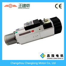 Manufacturer 9kw ISO30 ATC spindle motor which can instead of HSD
