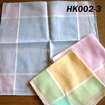 HK002-3 Mens 12 Pcs Set Handkerchief