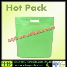 ultrasonic seal non woven die cut shopping bag