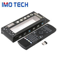 Shenzhen IMO High Quality MX3 Air Mouse Backlit Keyboard 2.4G Fly Mouse For Android TV Box Factory Price