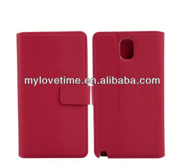 leather flip case for samsung galaxy note n9000