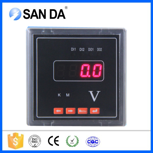 High Quality Voltage Current Power Meter Display Single-phase Voltmeters