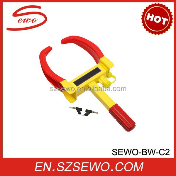 Steel Wheel Lock/Wheel Clamp/Car tyre lock