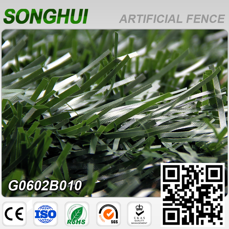 SGS eco-friendly natural green cheap plastic bamboo fence outdoor