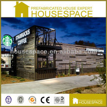 Sandwich Panel Green Container Coffee Shop